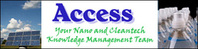 Access - Clean Technologies, Nanoscale Materials and Nanotechnology Funding and Consulting