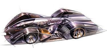 LA Auto Show, Acura FCX 2020 Le Mans